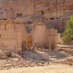 Afbeelding van Qasr al-Bint. petra jordanië المملكةالأردنيةالهاشمية jordan raqmu البتراء لواءالبتراء maangovernorate jo