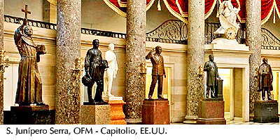 San Junípero Serra -Capitolio, USA
