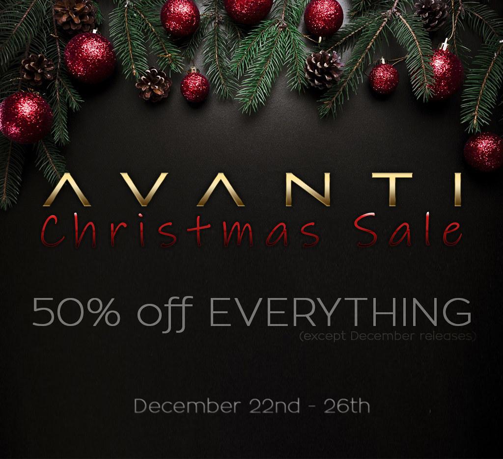 Avanti X-MAS SALE!! - TeleportHub.com Live!