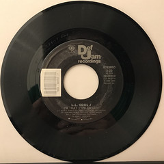 L.L. COOL J:I'M THAT TYPE OF GUY(RECORD SIDE-A)