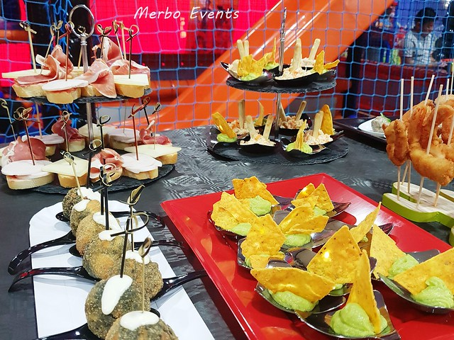 catering para eventos merbo events
