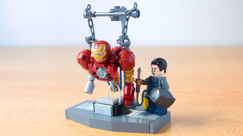 LEGO Iron Man laboratorio