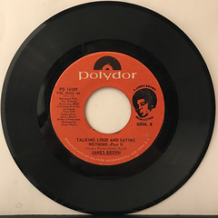 JAMES BROWN:TALKING LOUD AND SAYING NOTHING(RECORD SIDE-B)