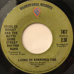 CHARLES WRIGHT AND THE WATTS 103RD STREET RHYTHM BAND:EXPRESS YOURSELF(LABEL SIDE-B)