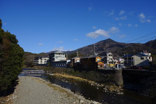 松ヶ崎橋から高野川・比叡山方面#01 (2019/01)