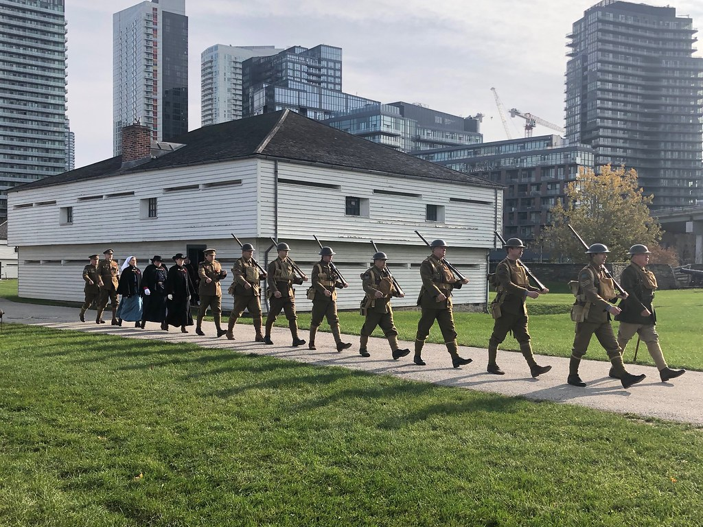 Fort York Remembrance Day 2018