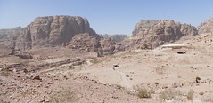 Petra Great Temple & Colonnaded Street Panorama