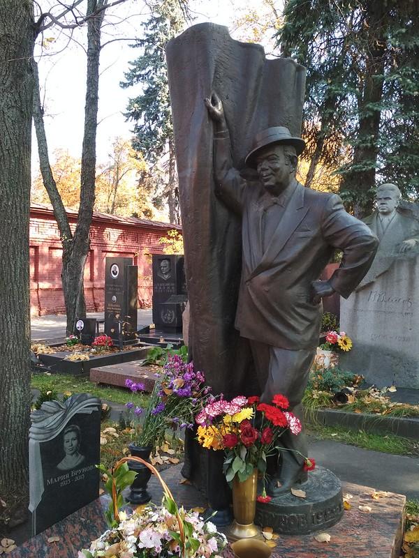 Москва - Новодевичье кладбище - Борис Брунов