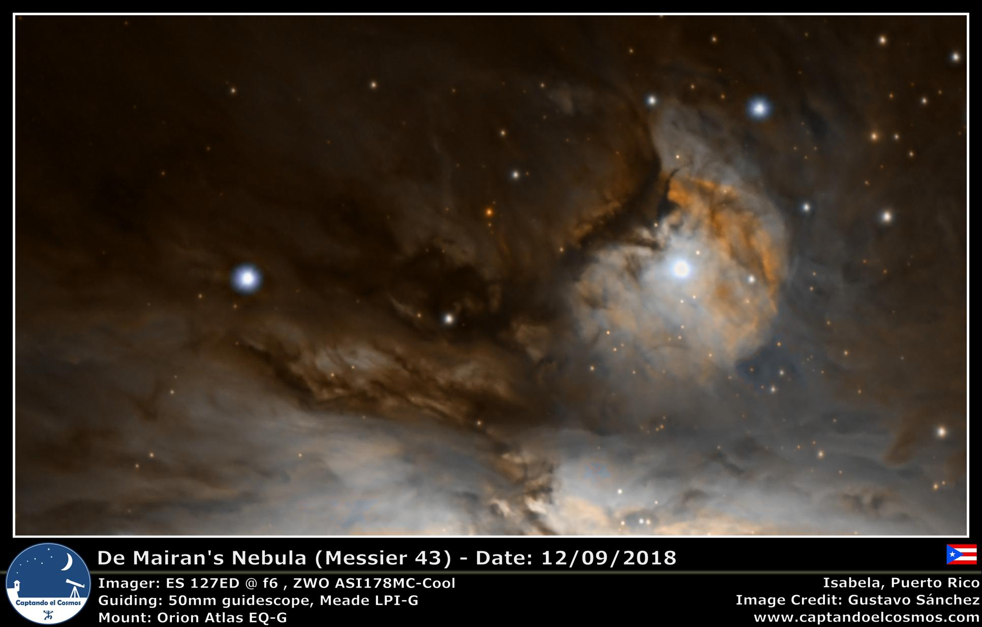 De Mairan's Nebula (Messier 43)