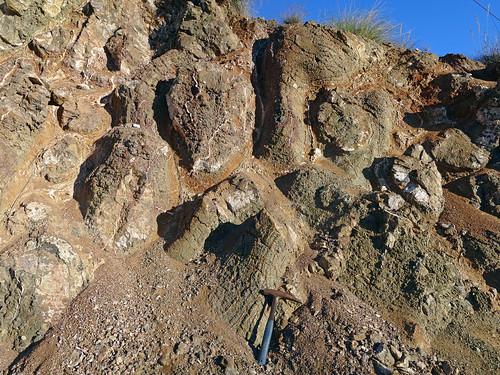 Lavas almohadilladas (pillow lavas) (Santoniense, Cretácico) - Alamedilla (Granada, España) - 10