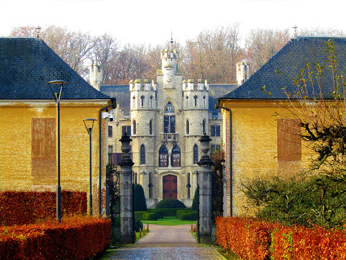 De Borrekens Castle in Vorselaar, Belgium.