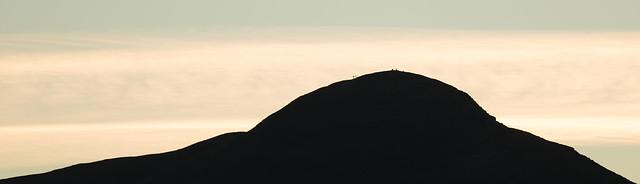 Sundown Silhouettes Catbells, Nikon D850, AF-S VR Nikkor 200mm f/2G IF-ED