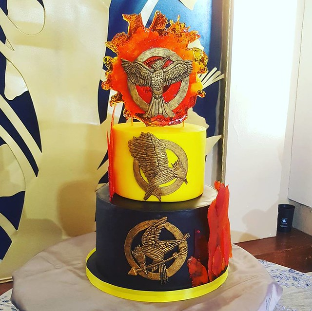 Hunger Games Cake by Lovelle Maula-Val of ILY Cupcakes and Pastries