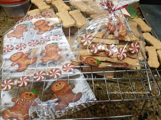 Doggie Treats at FromMyCarolinaHome.com