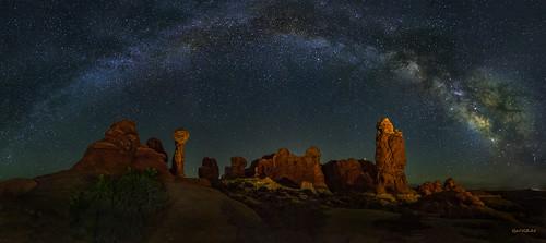 Midnight in the Garden - Arches National Park