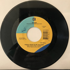 ROGER:I WANT TO BE YOUR MAN(RECORD SIDE-B)