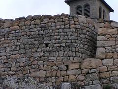 20080901 29002 1002 Jakobus Montarcher Kirche Turm Stein Mauer Treppe_01a - Photo of Saint-Jean-Soleymieux