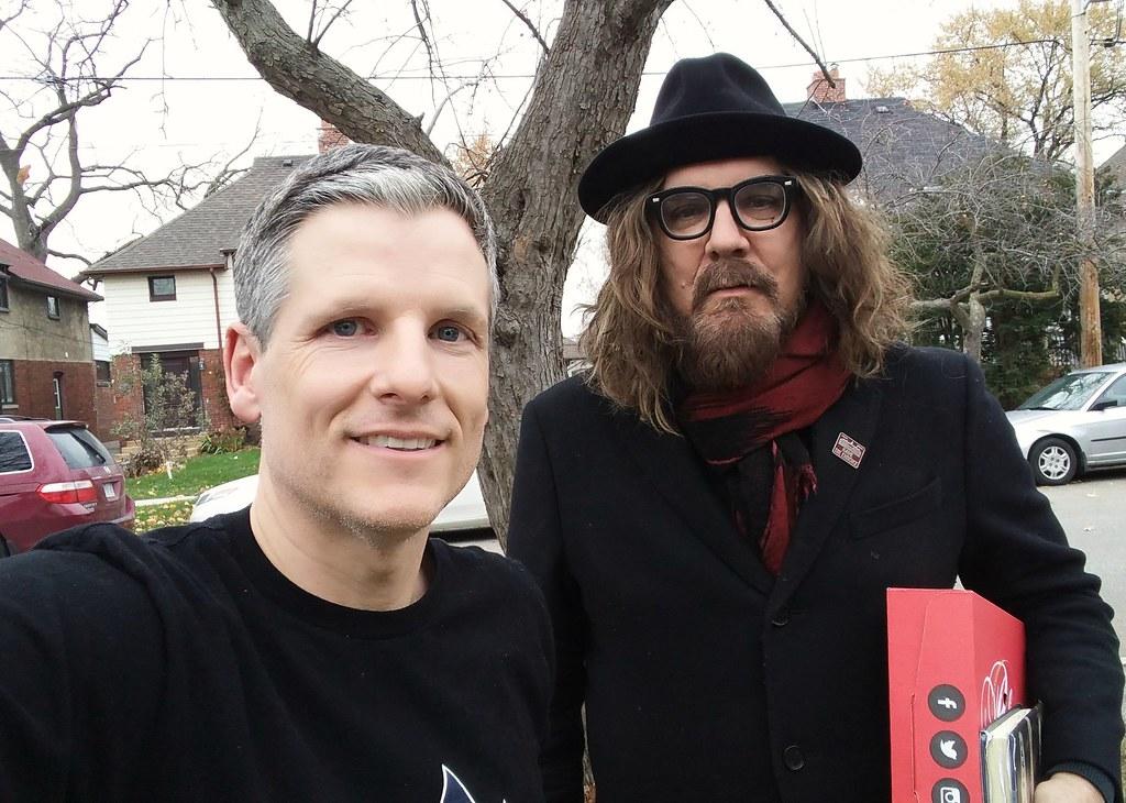 Tom Wilson and me