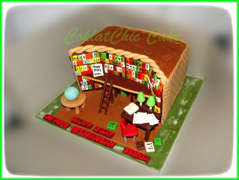 Cake Library Om Putu 20 cm