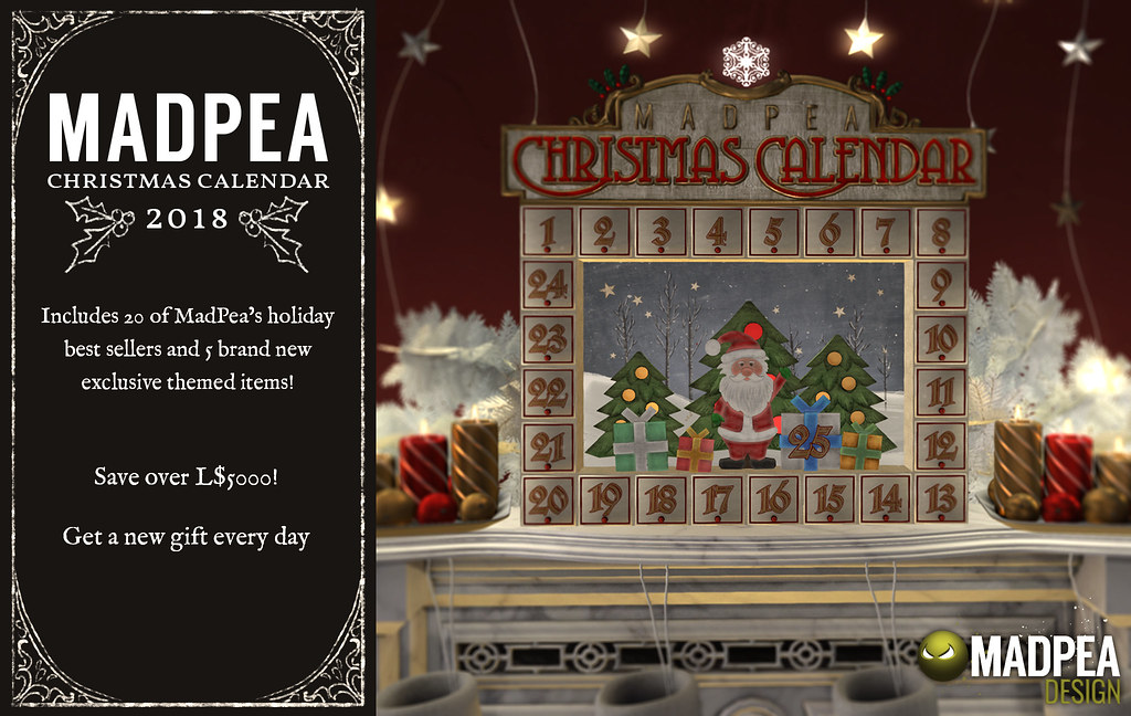 MadPea Calendar - TeleportHub.com Live!
