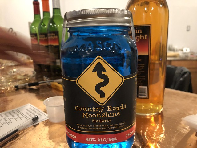 Mountain moonlight & country roads distillery