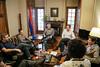 Encontro com Javier Miranda, presidente da Frente Ampla Uruguai
