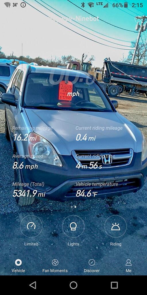 Used car - Segway app - Ninebot One E+