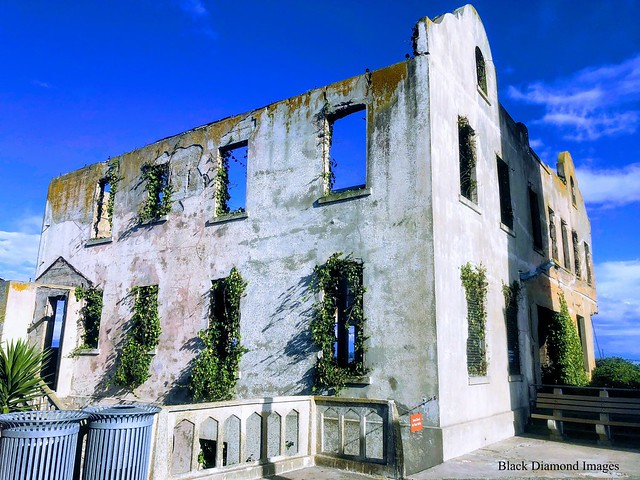 Superintendent's House, Alcatraz Penitentiary, San Francisco, California, USA