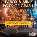 Gearbest TV Box and Mini PC Price Cash! promotion