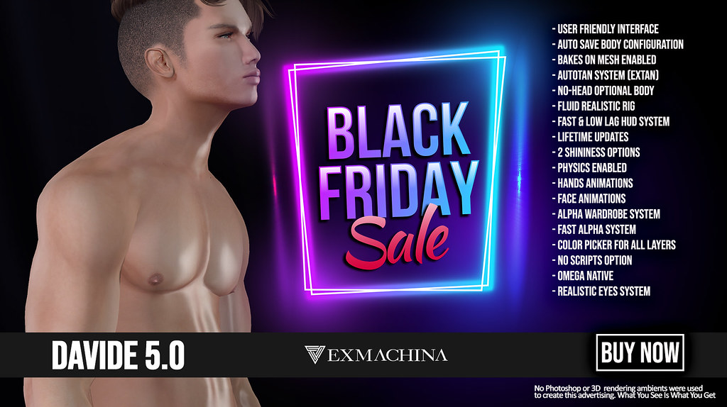 EXMACHINA DAVIDE BLACK FRIDAY - CYBER MONDAY - TeleportHub.com Live!
