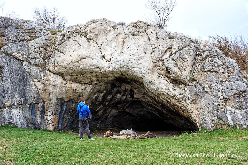 дикие пещеры Крыма