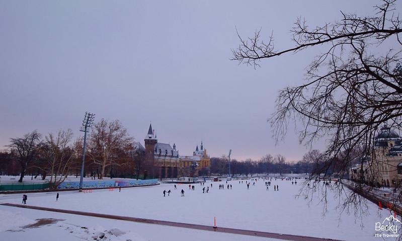 Budapest Hungary - Go Ice Skating