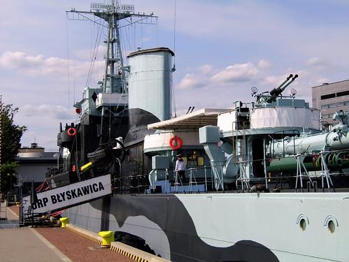 ORP Błyskawica, Polish Battleship in Gdynia