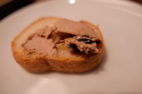 foie gras & liver crème brûléeフォアグラとレバーのブリュレ