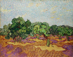 Olive Trees (1889) by Vincent Van Gogh. Original from the MET Museum. Digitally enhanced by rawpixel.