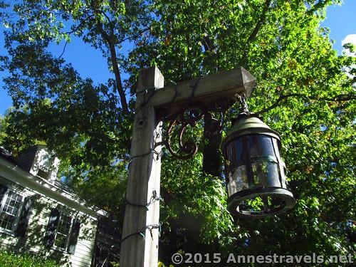 Lampost at Willowwood