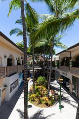 Shopping center Wailea Maui