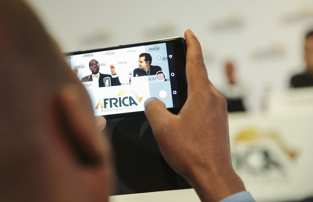 Africa Investment Forum - Launching of the new android Maraphone