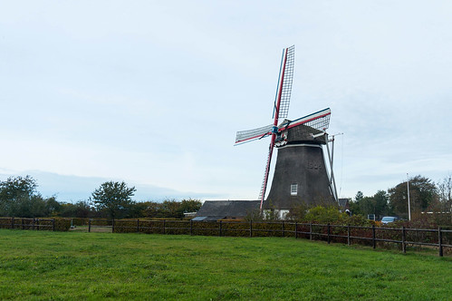 WIndmill Albertdina in Noord-Sleen