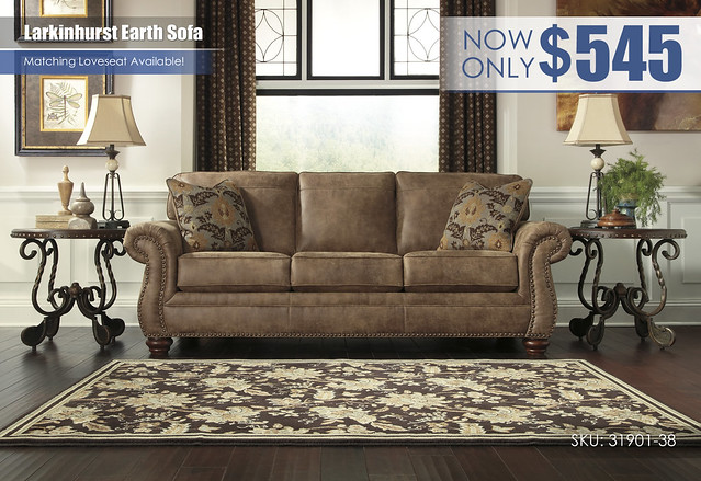 Larkinhurst Earth Sofa_31901-38-SET