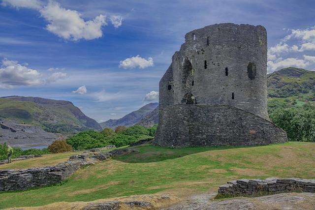 Dolbadarn Castle, Llanberis, North Wales, U.K.