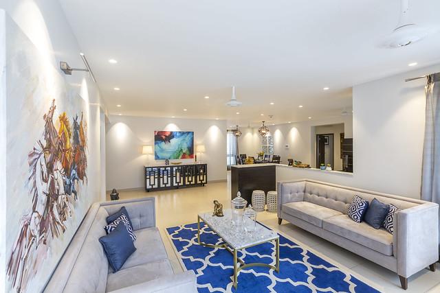 Step Inside This Modern, Global Home