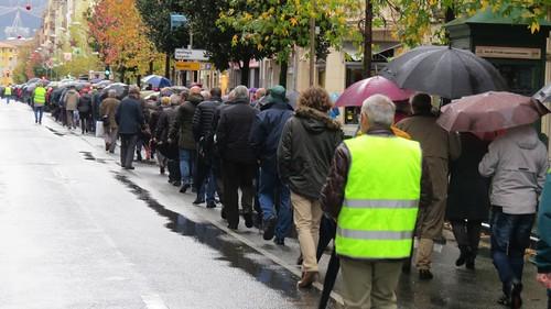 Manifestación pensionistas