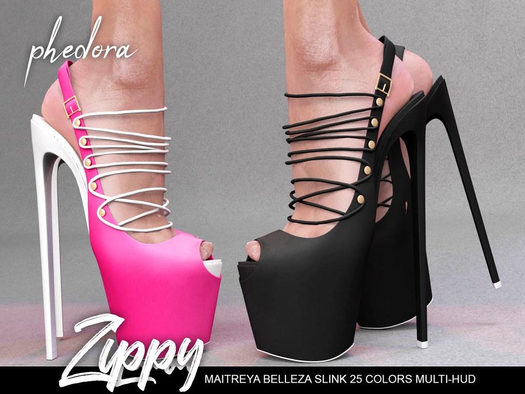 "Phedora. for Kinky Event - ""Zippy"" heels  ♥ - TeleportHub.com Live!"