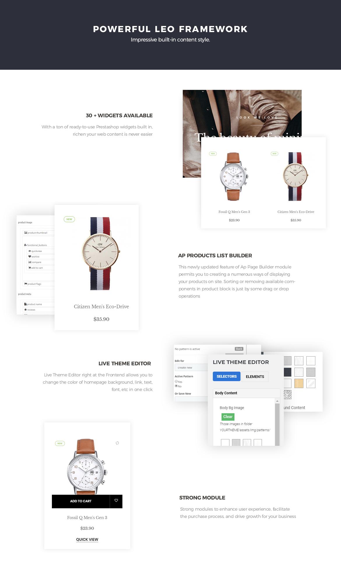 Powerful Leo Framework - Leo Penguinwatch for Fashion Prestashop theme-Leotheme