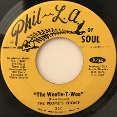 THE PEOPLE'S CHOICE:THE WOOTIE-T-WOO(LABEL SIDE-A)