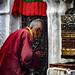 Prayers At The Bodhnath, Kathmandu