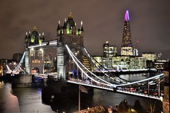 Tower Bridge Night Image.Nikon D3100, DSC_0368.