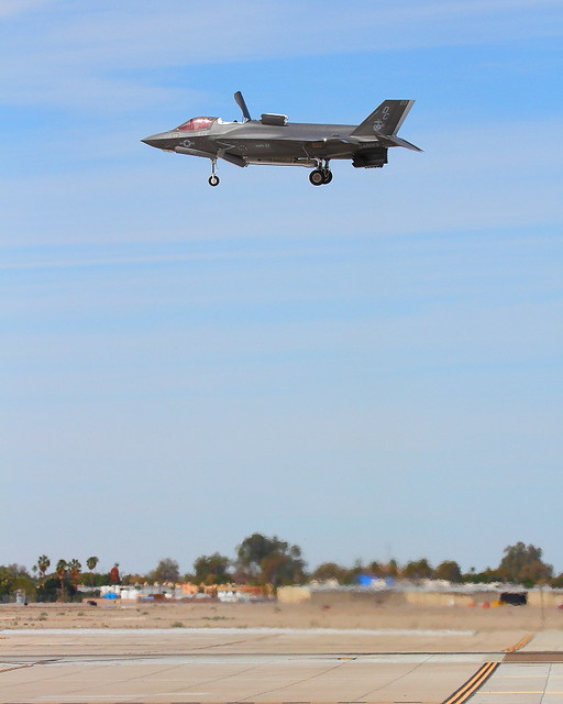 IMG_6141 F-35B Hovering