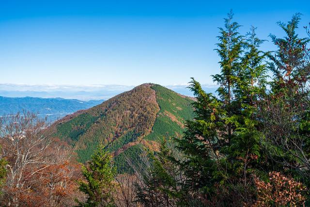 振り返り武甲山